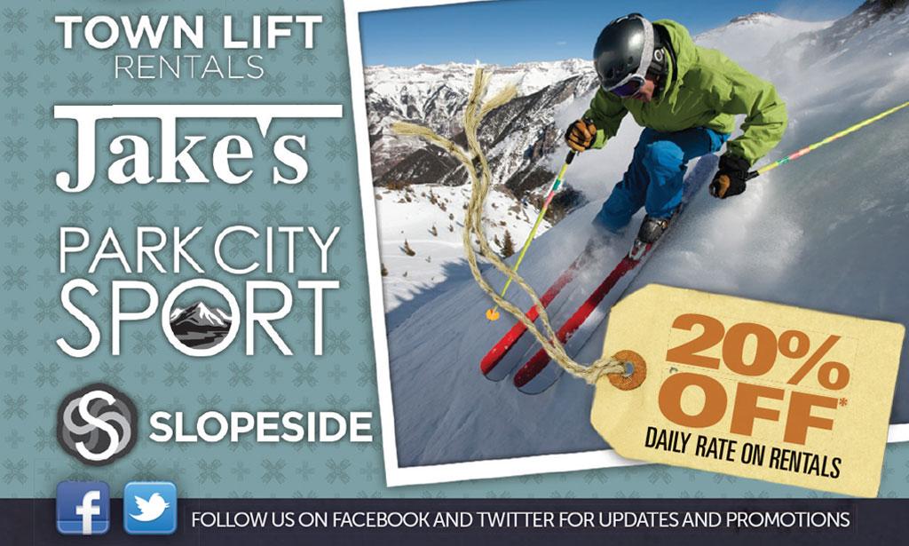 Jake's Ski Rentals Coupon