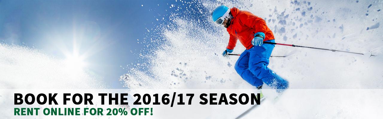 Jake's Ski Rentals Book Online